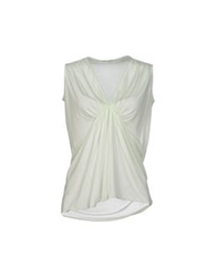 Grazia'lliani Sleeveless Undershirts Light Green