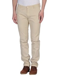 Gold Case By Rocco Fraioli Casual Pants Beige