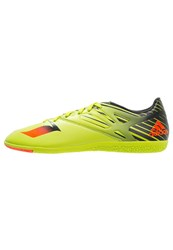Adidas Performance Messi 15.3 In Indoor Football Boots Semi Solar Slime Solar Red Core Black Neon Green