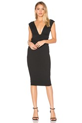 Nookie Royal Midi Dress Black