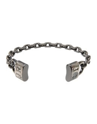 John Richmond Bracelets Steel Grey