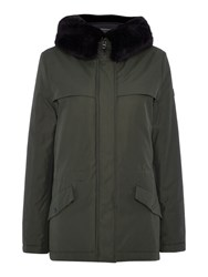 Gant Winter Parka Coat Green