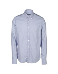 Lorenzini Long Sleeve Shirts Blue