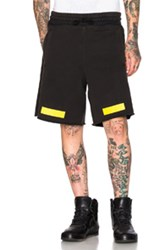 Off White Arrows Shorts In Black