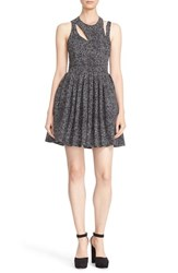 Cinq A Sept Women's 'Pandora' Cutout Fit And Flare Dress