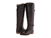 Frye Dorado Riding Dark Brown Leather Women's Pull On Boots