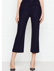 Paul Smith Ps By Flock Spot Trousers Navy Black
