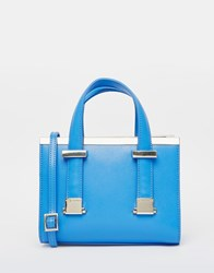 Ted Baker Metal Bar Minature Tote Blue