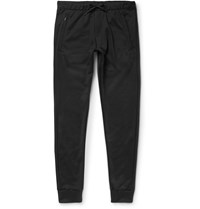 Y 3 Tapered Jersey Sweatpants Black