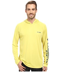 Columbia Terminal Tackle Hoodie Mineral Yellow Carbon Men's Sweatshirt