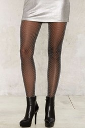 Zig Zag Sheer Tights 72234
