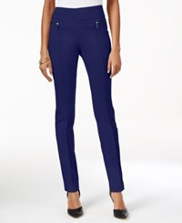 Styleandco. Style Co. Skinny Pull On Pants Only At Macy's Industrial Blue