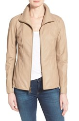 Women's Marc New York By Andrew Marc Lambskin Leather Jacket Online Only