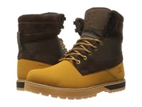 Dc Uncas Wheat Dark Chocolate Men's Lace Up Boots Brown