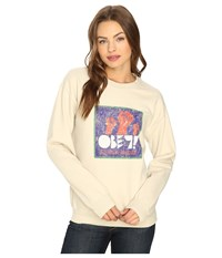 Obey Seditionary Propagande Sand Women's Clothing Beige