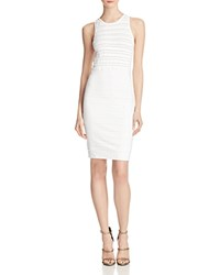 French Connection Beth Textured Dress Summer White
