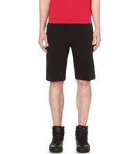 Diesel Chi Pitt Regular Fit Stretch Cotton Shorts Black