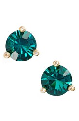 Kate Spade Women's New York 'Rise And Shine' Stud Earrings Emerald