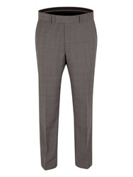 Pierre Cardin Prince Of Wales Check Classic Fit Trousers Grey