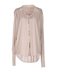 By Ti Mo Shirts Shirts Women Light Pink