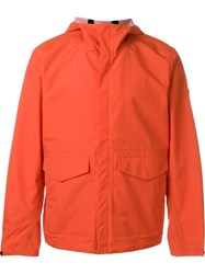 Paul Smith Jeans Hooded Waterproof Jacket Red