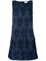 Moncler Broderie Anglaise Dress Blue