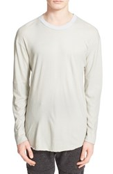 Drifter Men's 'Meyer' Long Sleeve T Shirt Overcast