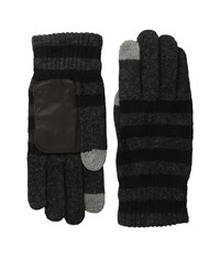 Original Penguin Rolie Black Navy Extreme Cold Weather Gloves