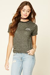 Forever 21 I Don't Play Nice Graphic Tee