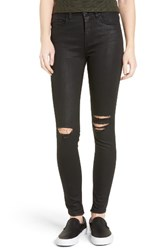 Blank Nyc Women's Blanknyc 'All Lacquered Up' Coated Skinny Jeans