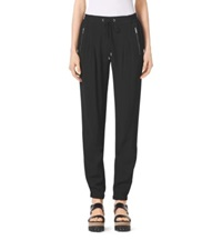 Michael Kors Crepe Track Pants Black