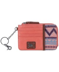The Sak Iris Card Wallet Guava Patch
