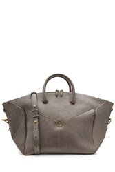 Jerome Dreyfuss Leather Tote Grey
