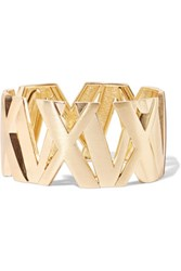 Kenneth Jay Lane Gold Tone Cuff