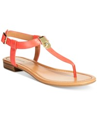 Styleandco. Style And Co. Baileyy Thong Sandals Only At Macy's Women's Shoes Coral