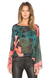 Clover Canyon Rustic Vines Top Black