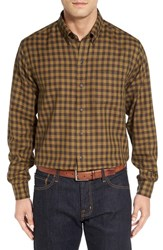 Cutter And Buck Men's Big Tall 'Cliff' Check Sport Shirt