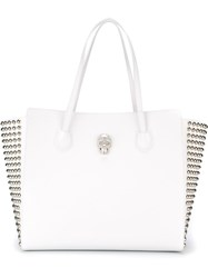 Philipp Plein 'Just Girls' Tote White