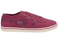 Gola Jasmine Canvas Pump Shoes Berry
