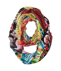 Desigual Loop Green Scarves