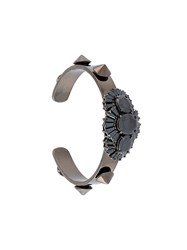 Iosselliani 'Black On Black Memento' Bracelet Metallic