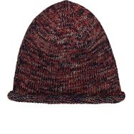 Inis Meain Men's Melange Fisherman Cap Red