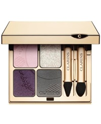 Clarins Eye Quartet Mineral Palette No. 12 Opalescence Collection No Color