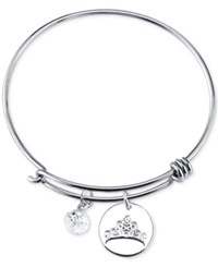 Disney Dreams Charm Bangle Bracelet In Sterling Silver