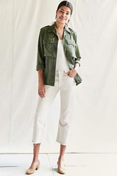 Urban Renewal Recycled Levi's Frayed Jean White
