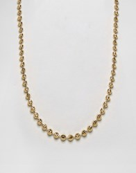 Mister Marble Chain Necklace In Gold Gold