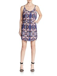 Sam Edelman Belinda Kaleidoscope Print Dress Multi