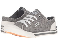 Rocket Dog Jazzin Grey Scales Women's Lace Up Casual Shoes Gray