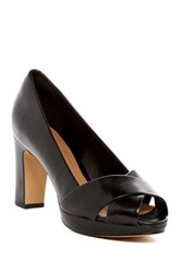 Clarks Jenness Cloud Peep Toe Pump Wide Width Available Black