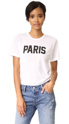 Private Party Paris Tee White